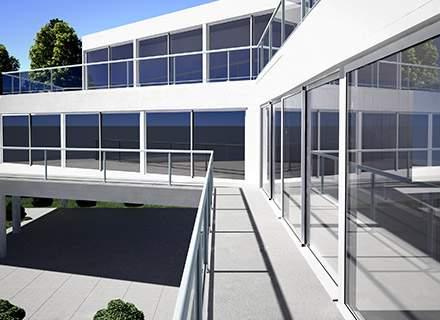 Baies coulissantes aluminium & PVC
